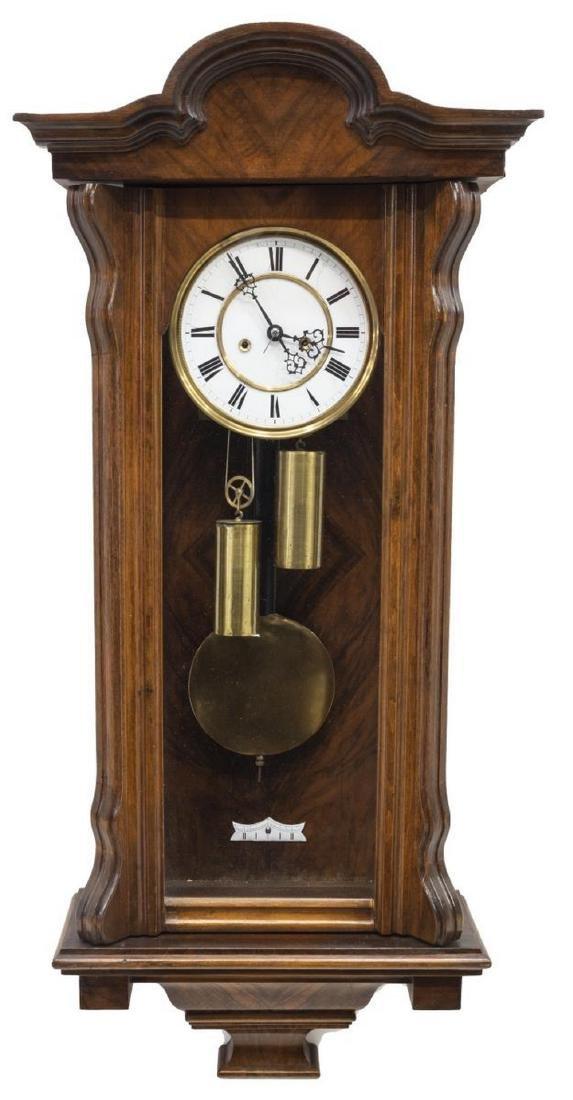GUSTAV BECKER GERMAN REGULATOR WALL CLOCK