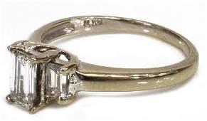ESTATE 14KT WG & APPROX 1.67CTTW DIAMOND RING