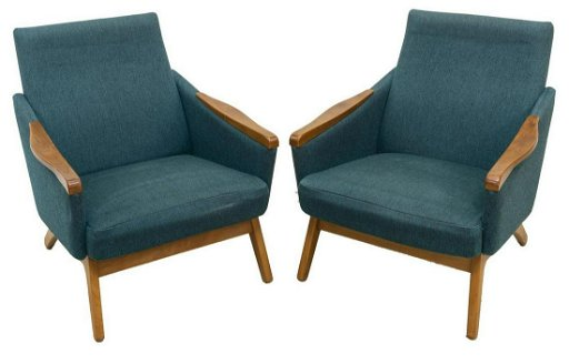 Peachy 2 Danish Mid Century Modern Armchairs Ocoug Best Dining Table And Chair Ideas Images Ocougorg