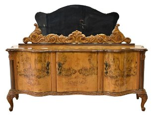Antique Buffet With Mirror >> Vintage Sideboards Buffets For Sale Antique Sideboards Buffets