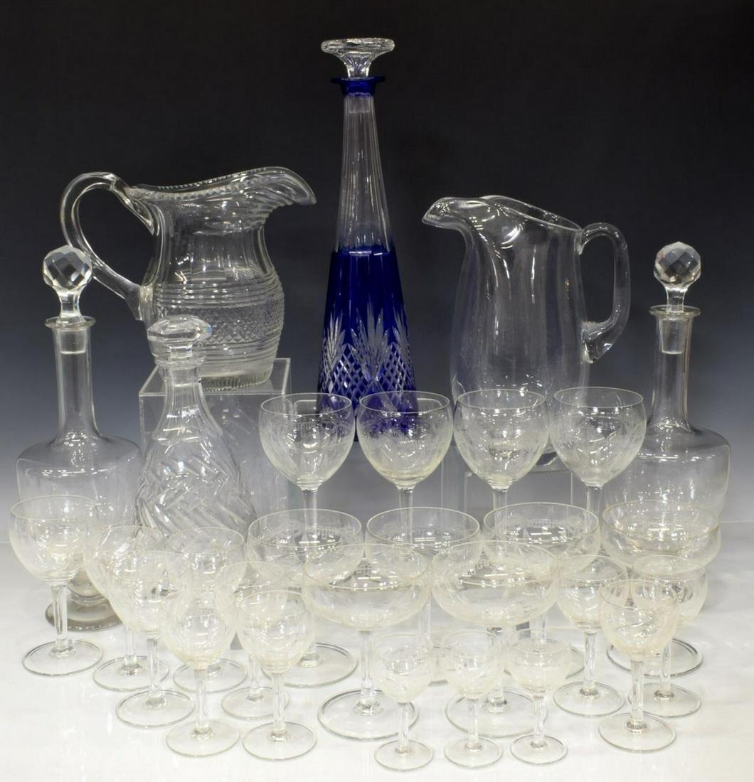 (29) COLLECTION GLASS TABLEWARE, STEMWARE