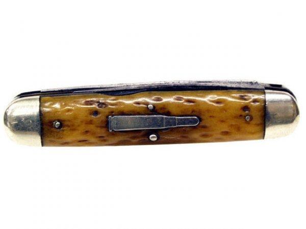 29: REMINGTON UMC BULLET MOOSE R4353 TWO BLADE KNIFE