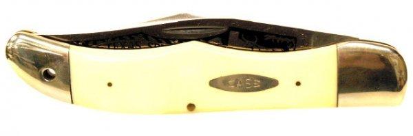 30: CASE XX TEXAS SPECIAL ENGRAVED BLADE KNIFE 4165