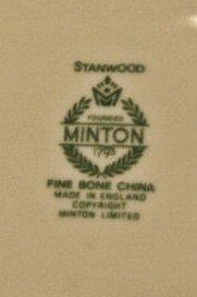 192: 44 PIECE MINTON STANWOOD BONE CHINA DINNER SERVICE - 3