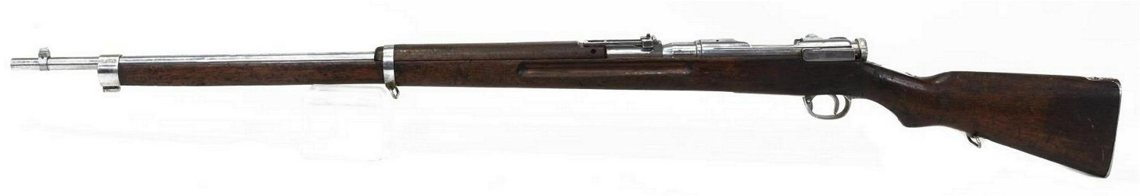 JAPANESE ARISAKA TYPE 38 RIFLE, CHROMED