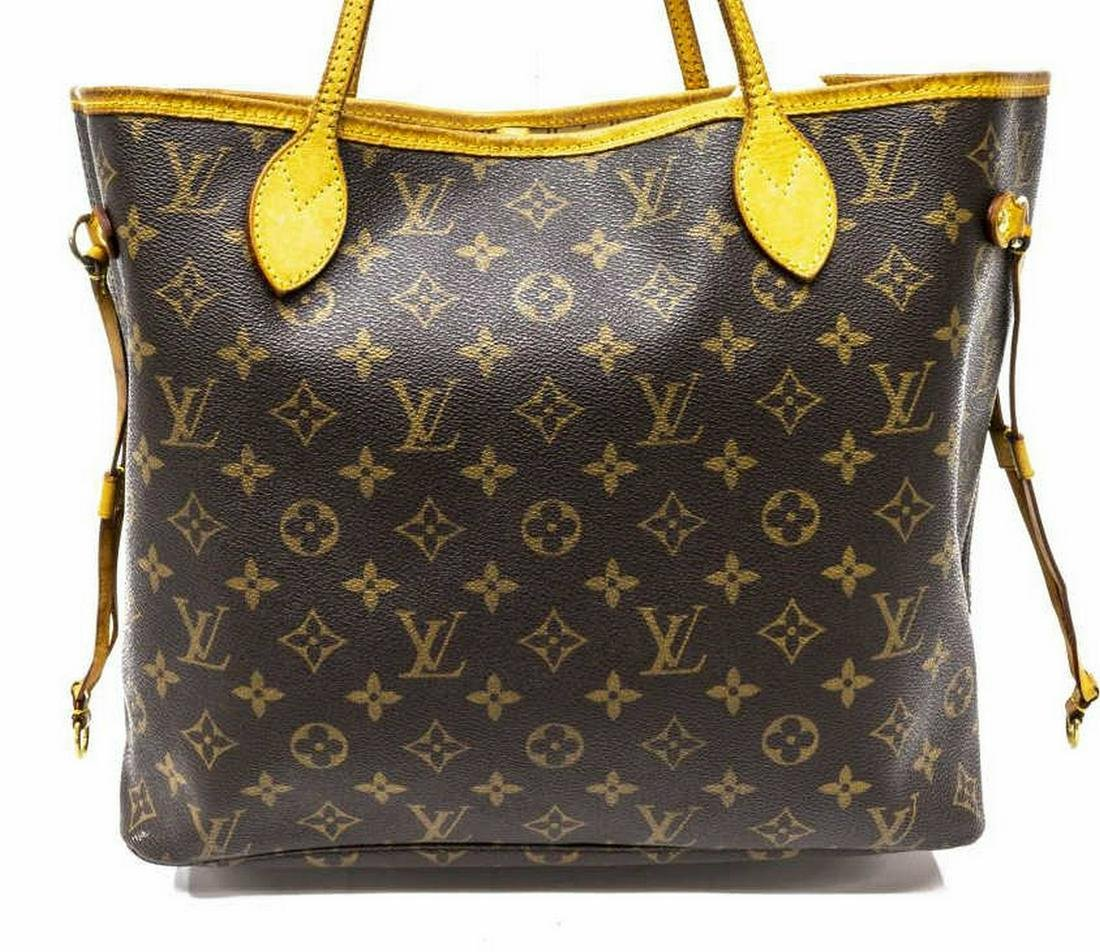 LOUIS VUITTON 'NEVERFULL MM' MONOGRAM CANVAS TOTE