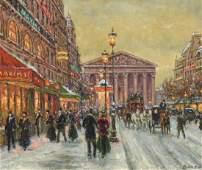 ANDRE BOYER (1909-1981), PARIS STREET, MAXIMS