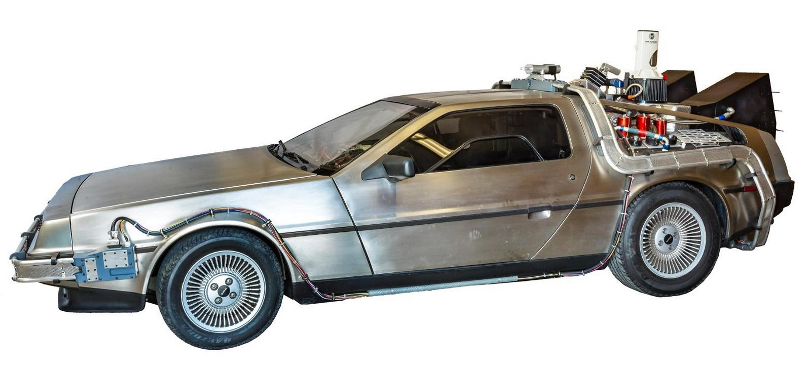 """BACK TO THE FUTURE"" CUSTOMIZED 1981 DELOREAN"