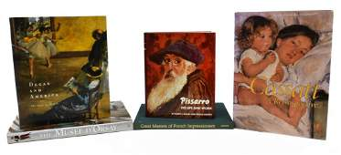 5 ART BOOKS FRENCH IMPRESSIONISM MUSEE DORSAY