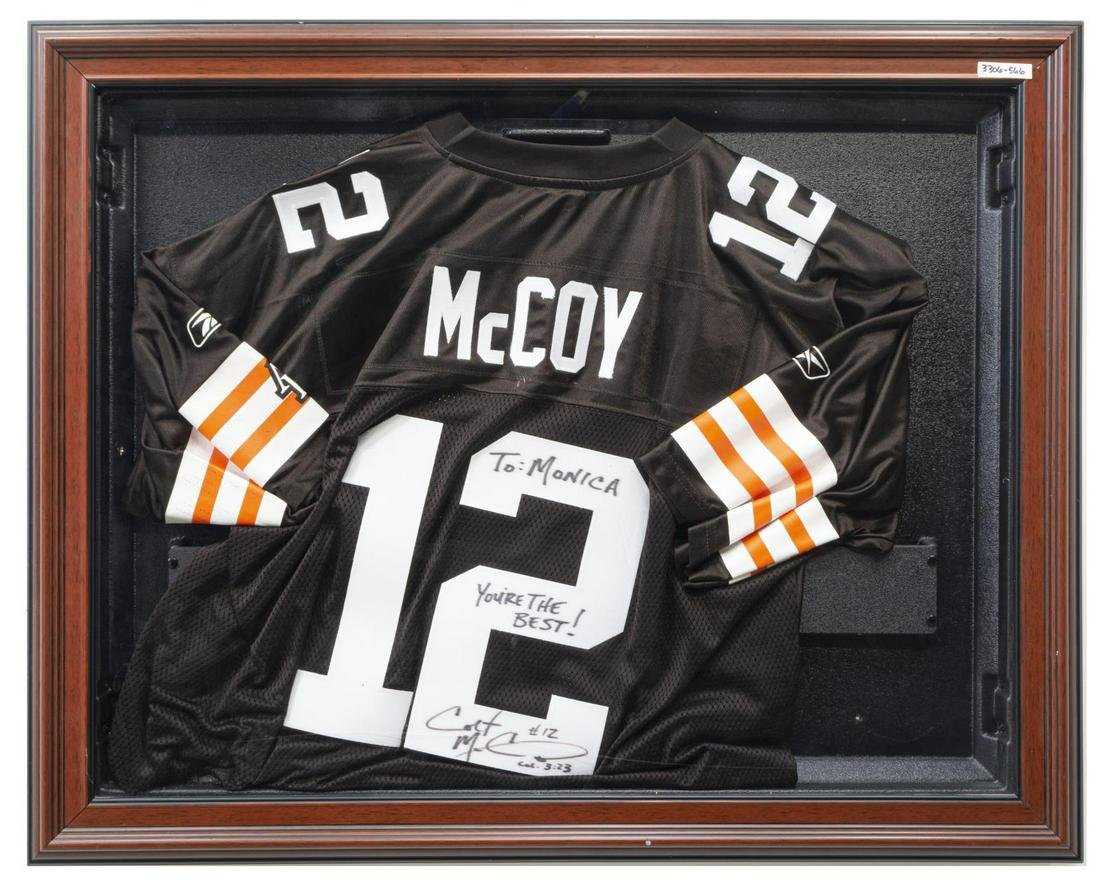 TEXAS LONGHORNS COLT McCOY SIGNED JERSEY