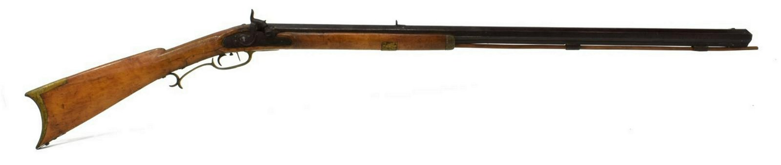 AMERICAN HALF STOCK PERCUSSION LONG RIFLE