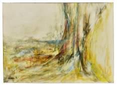 LEONARDO NIERMAN (B.1932) ABSTRACT PAINTING