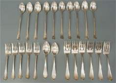 (23) ASSORTED STERLING SILVER FLATWARE