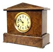 760 ANTIQUE SETH THOMAS FAUX MARBLE MANTLE CLOCK