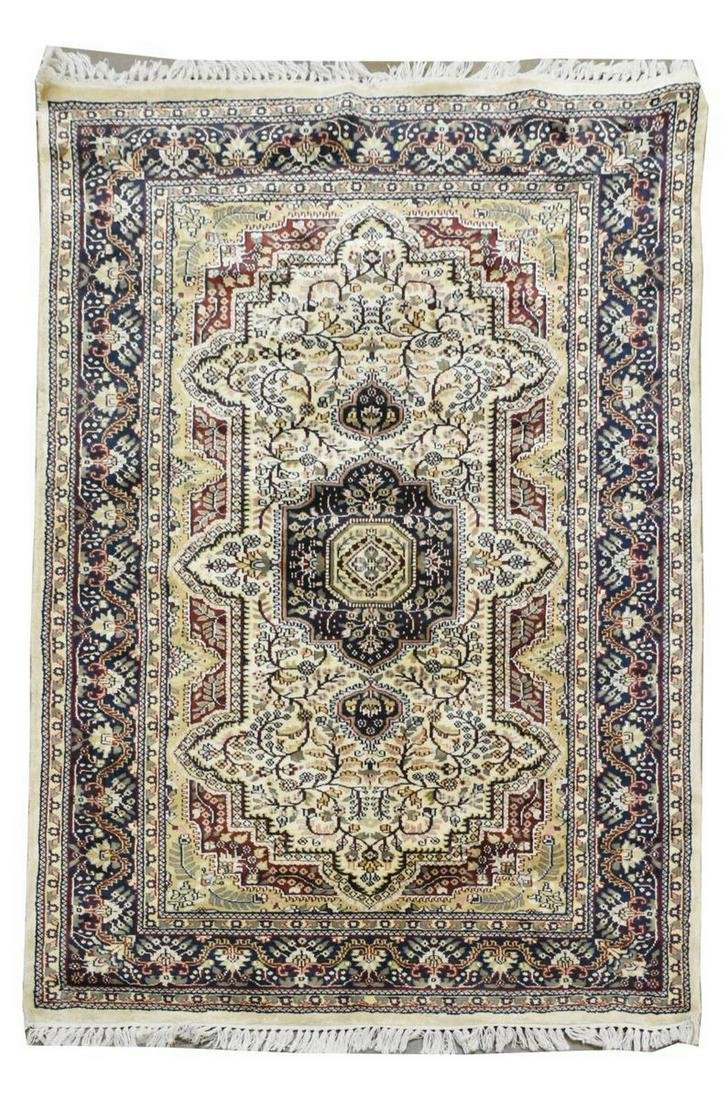 "HAND-TIED PERSIAN RUG, 6'4"" X 3'11.25"""