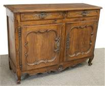 FRENCH LOUIS XV PERIOD SIDEBOARD, 18TH C.