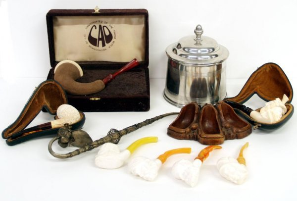 114: GROUP TOBACCO & SMOKING PIPES, CAO MEERSCHAUM