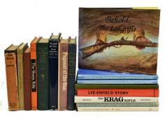 (16) BOOKS: FIREARMS COLLECTING, RIFLES, MILITARY