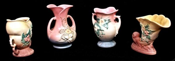 523: COLLECTION OF HULL ART POTTERY WILDFLOWER PATTERN