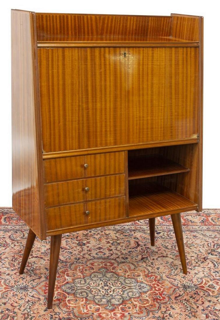 Picture of: Italian Mid Century Modern Secretary Desk Jun 27 2020 Austin Auction Gallery In Tx