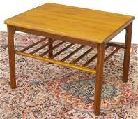 DANISH MID-CENTURY MODERN TEAK SIDE TABLE