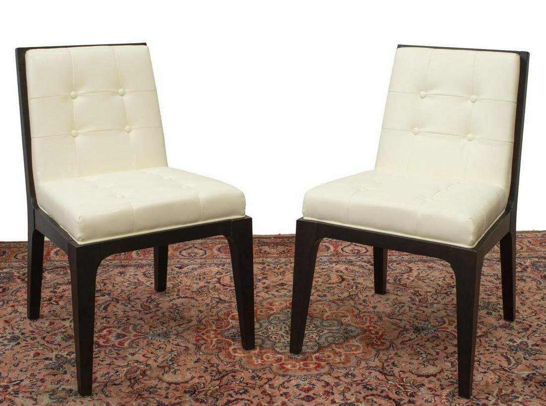 (2) CONTEMPORARY MODERN DESIGN SIDE CHAIRS