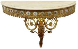 FRENCH LOUIS XVI STYLE WALL BRACKET CONSOLE