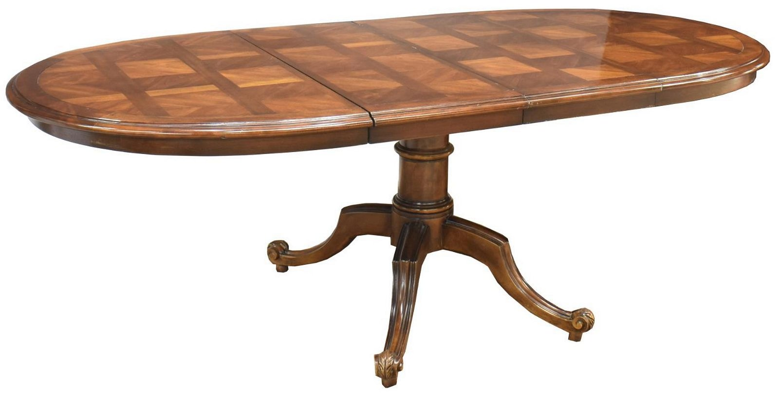 CENTURY FURNITURE EXTENSION DINING TABLE & LEAVES