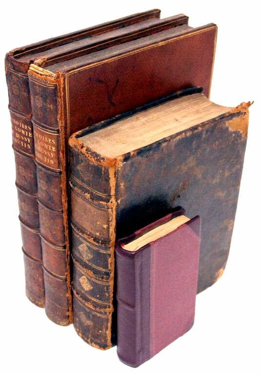 710: ANTIQUE 18TH CENTURY FRENCH & LATIN BOOKS