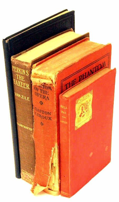 711: ANTIQUE FICTION & POETRY BOOKS AUTOGRAPHED