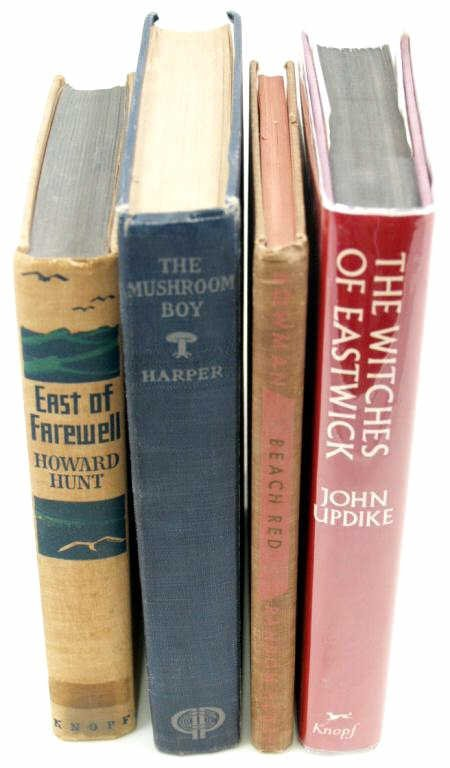 716: RARE BOOK GROUPING, FIRST EDITIONS, SOME SIGNED