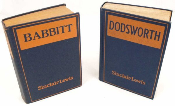 717: BOOKS, SINCLAIR LEWIS FIRST EDITIONS, ONE SIGNED