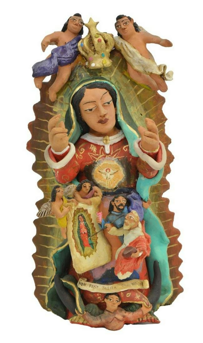 DEMETRIO AGUILAR OAXACA MEXICO VIRGEN DE GUADALUPE