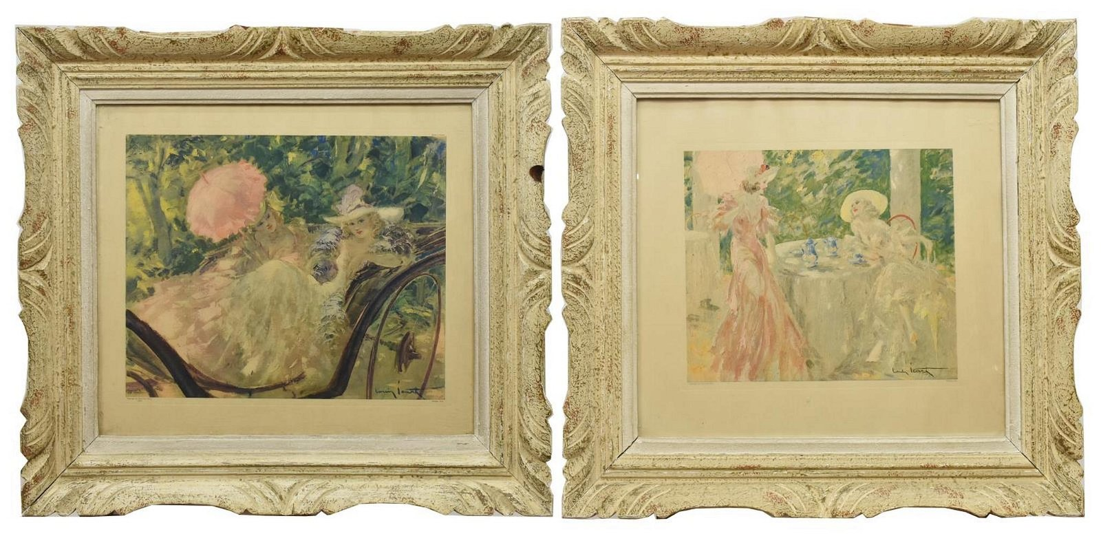 (2) FRAMED FRENCH PRINTS AFTER LOUIS ICART