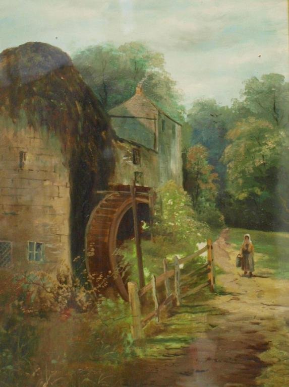 38: PAINTING, ENGLISH VICTORIAN PAINTING, MILL HOUSE