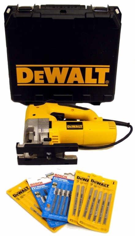 3: DeWALT DW321 ORBITAL JIG SAW, VARIABLE SPEED