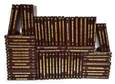 (69) WESTERN LOUIS L'AMOUR LEATHER-BOUND BOOKS