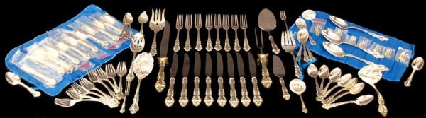 23: REED & BARTON STERLING FLATWARE, SPANISH BAROQUE