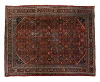 """LARGE HAND-TIED PERSIAN RUG, 13'3"""" X 10'3"""""""