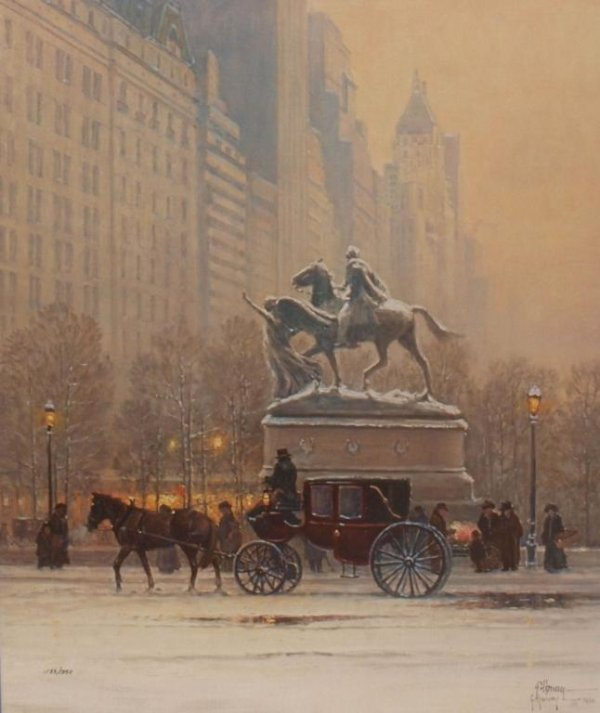 "5: G. HARVEY SIGNED LIMITED PRINT ""FIFTH AVENUE"""