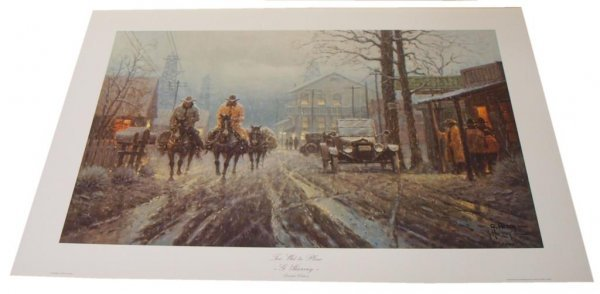 19: CONNALLY COLLECTION G HARVEY LIMITED SIGNED PRINTS - 10
