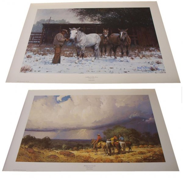19: CONNALLY COLLECTION G HARVEY LIMITED SIGNED PRINTS - 5