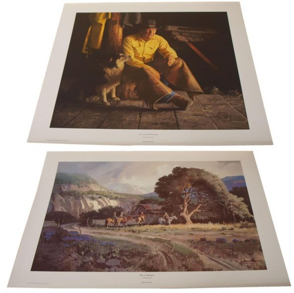 19: CONNALLY COLLECTION G HARVEY LIMITED SIGNED PRINTS - 7