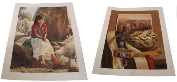 19: CONNALLY COLLECTION G HARVEY LIMITED SIGNED PRINTS - 8