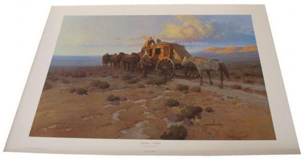19: CONNALLY COLLECTION G HARVEY LIMITED SIGNED PRINTS - 9