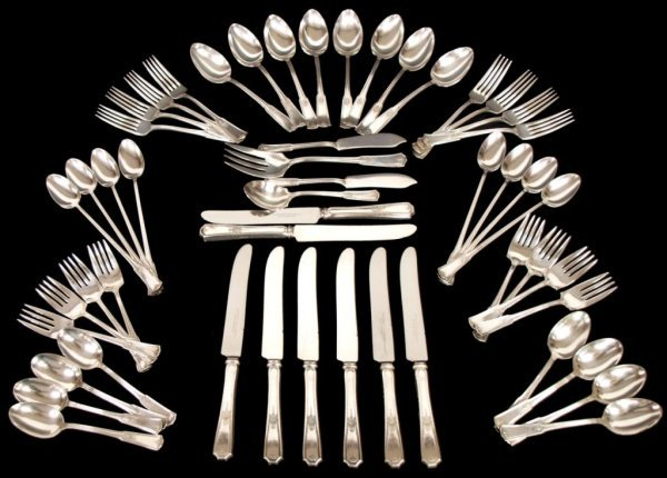 SET (52) OF STRATFORD SPECIAL SILVERPLATE FLATWARE