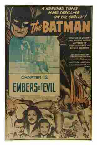 FRAMED 'THE BATMAN: CHAPTER 12' MOVIE POSTER