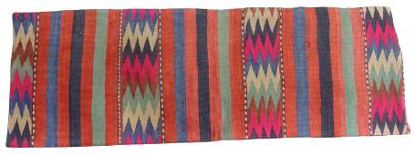 SOUTHWEST STYLE KILIMFRONT LUMBAR PILLOW COVER