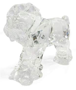 STEUBEN SIDNEY WAUGH GLASS CLYDESDALE HORSE