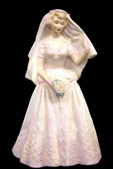 ROYAL DOULTON PORCELAIN FIGURE, THE BRIDE HN 2166